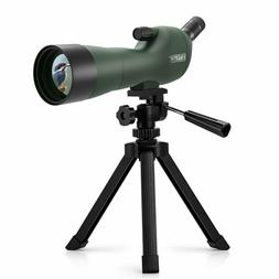 Emarth 20-60x60AE Waterproof Angled Spotting Scope with Trip