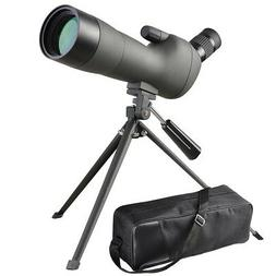 20-60x60mm Zoom Angled Spotting Scope Monocular Telescope w/