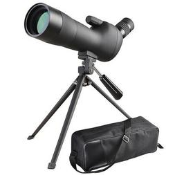 20-60x60mm Zoom Angled Spotting Scope Monocular Telescope An