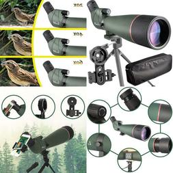 LANDOVE 20-60X80 BAK4 Prism Spotting Scope-Waterproof Field