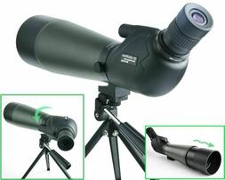 20 60x80 porro prism spotting scope