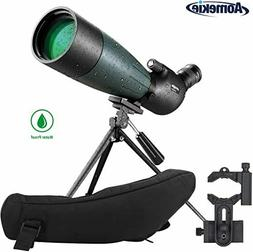 20-60X80 Spotting Scope HD Vision for Hunting Bird Watching