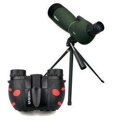 SVBONY 20-60x80mm BAK4 Prism Refractor Angled Spotting Scope