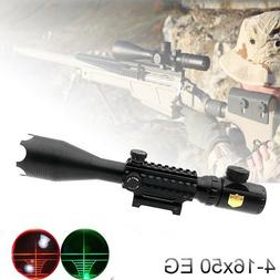 2019 NEW 4-16x50 EG Tactical Rifle Scope for Outdoor Sport H