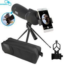 25-75X70 Zoom Spotting Scope With Tripod Phone Adapter Bird