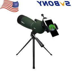 SVBONY SV28 25-75x70mm Angled Zoom Spotting Scope MC Waterpr