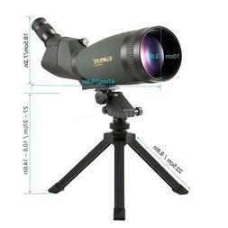 Visionking 30-90x100SS Bak4 Angled Spotting Scope with Tripo