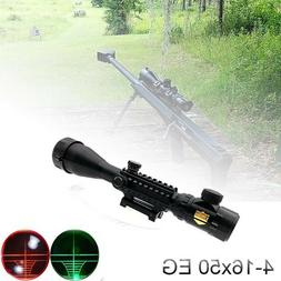 4-16x50 EG Tactical Rifle Scope for Outdoor Sport Hunting