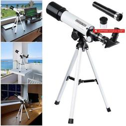 50mm kid beginner astronomical refractor telescope refractiv