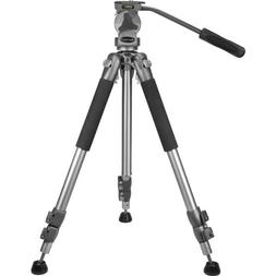 "BARSKA Professional Tripod, Extendable to 66"" w/ Carrying Ca"