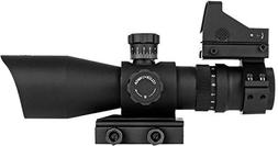Trinity Force 3-9x42 Redcon-1 Combo Riflescope with Micro Re