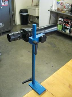 Bench Mount Spotting Scope Stand With Extension Rod