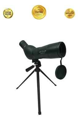 Compact Pro Spotting Scope 15x to 45x Magnification, 60mm Le