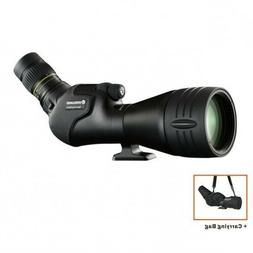 Vanguard Endeavor HD-82A angled spotting scope with 20x60 zo