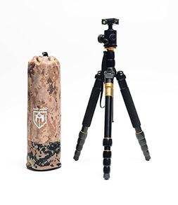 Glide Gear GG 665 Video/Photo Camera Tripod Monopod with Bal