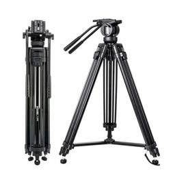 ZOMEI M8 Heavy Duty DV Video Tripod Monopod with Fluid Pan H