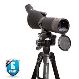 Maginon Hi Definition Spotting Scope with Tripod 20-60x60 Zo