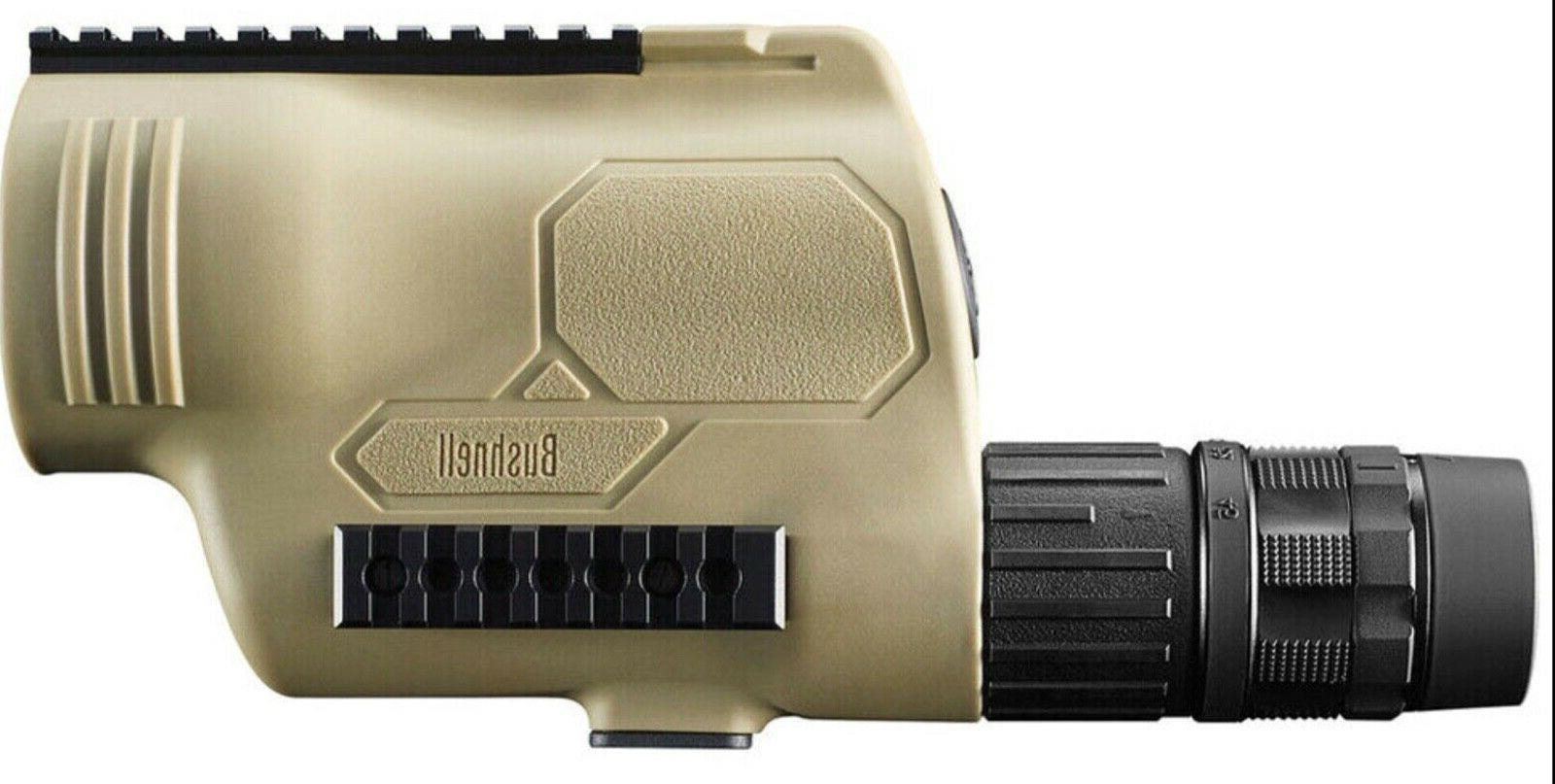 Bushnell FDE Mil Hash Reticle