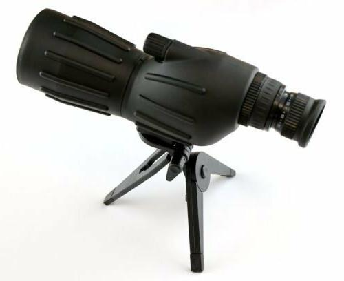 15x 40x50 grooved spotting scope with mini