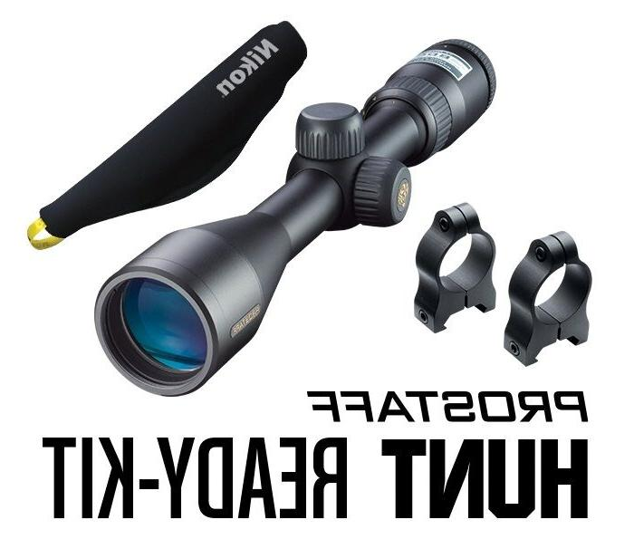 NIKON 16386 Hunt Ready Kit PROSTAFF 3-9x40 Matte Nikoplex Re
