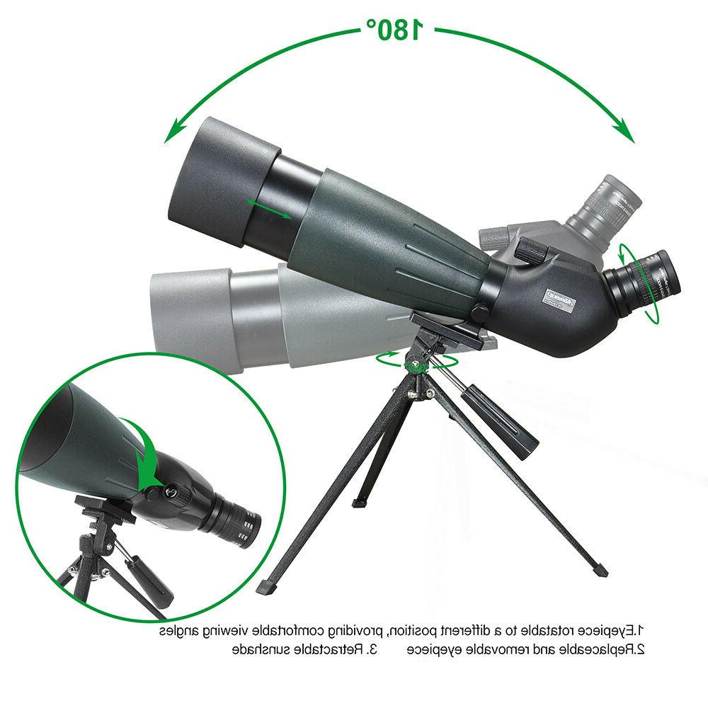 20-60X80 Scope Vision Hunting