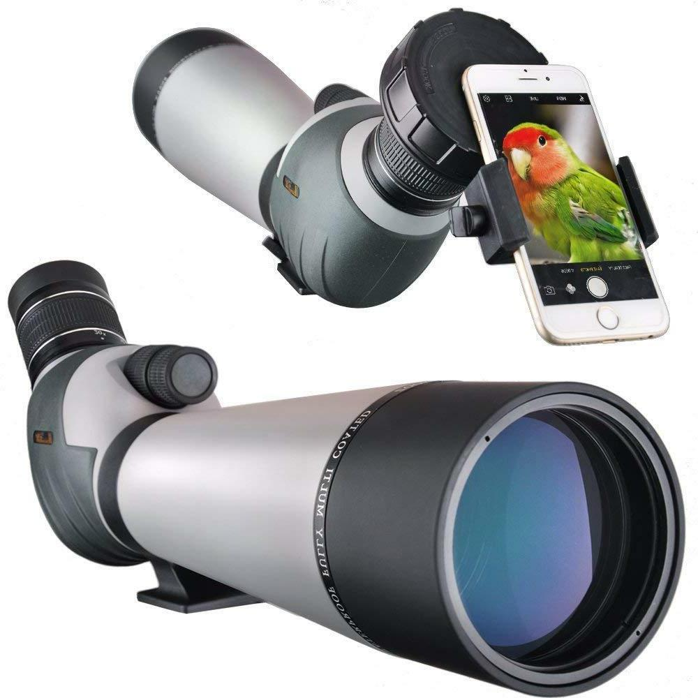 20 60x80 zoom spotting scope angled 2