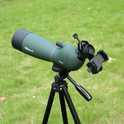 Spotting Angled Spotting Scope +Phone Adapter US SHIP
