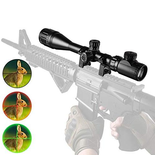 4 dot illuminated sight rifle