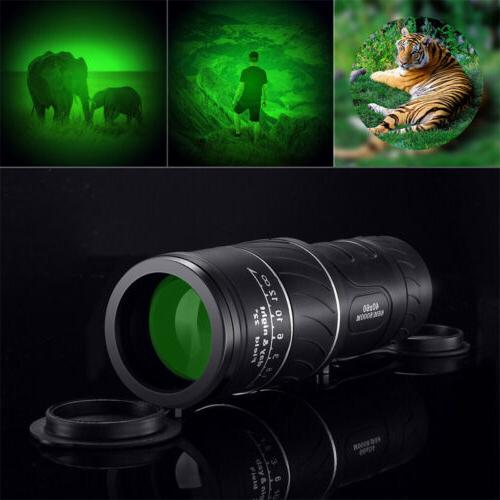 40x Focus Spotting Scope Portable Pocket Size Hiking camping