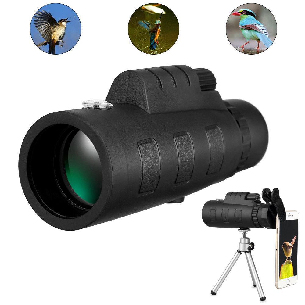 50x60 Zoom Monocular HD Spotting with