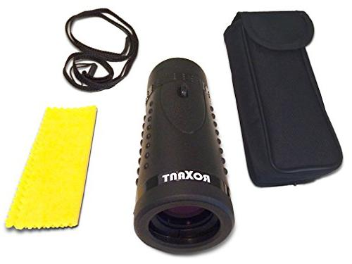ROXANT ROX-GS Authentic Scope Monocular - Eyepiece and Multi Coated Lens + Pack