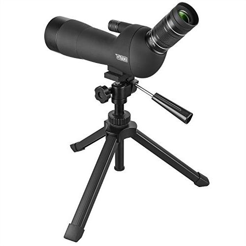 Emarth Scope with Waterproof Scopes with Bak4 Prism Target Shooting Bird Outdoor -with Tripod & Came