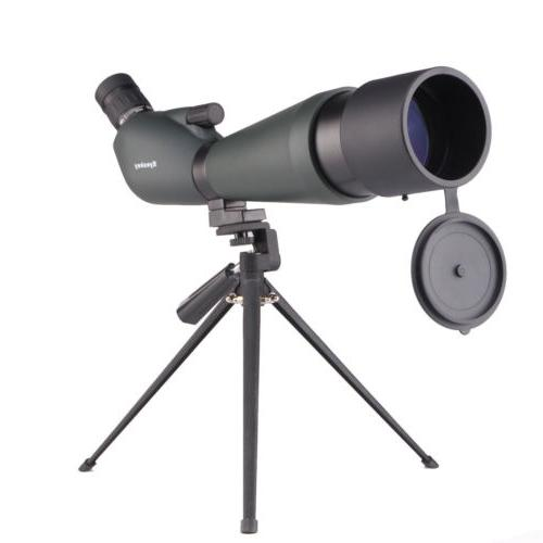 Eyeskey Angled 20-60x80 Waterproof Zoom Spotting Scope with