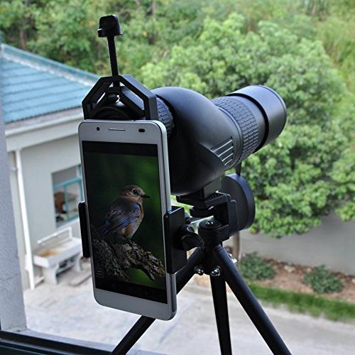 Mount, Work Monocular for iPhone, Samsung, LG and