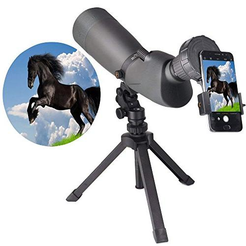 Landove Cellphone Mount, Monocular and