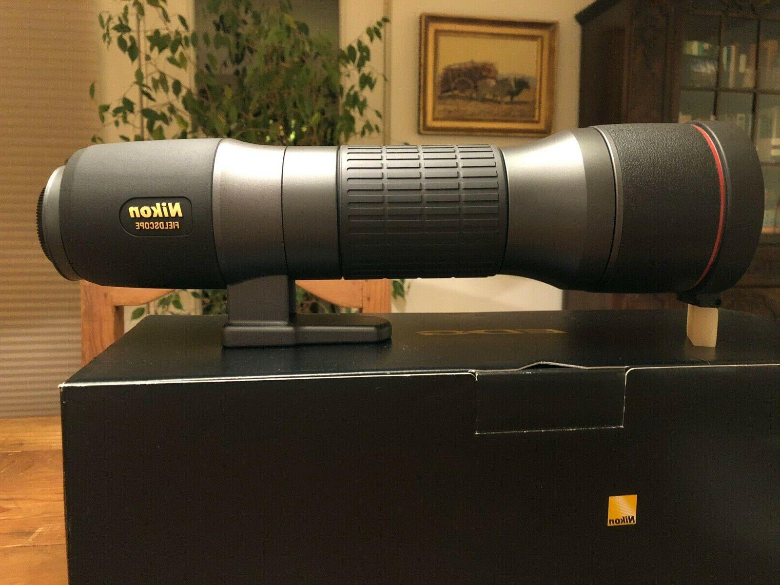 Nikon Spotting Scope with 6 Eyepieces - Complete Set