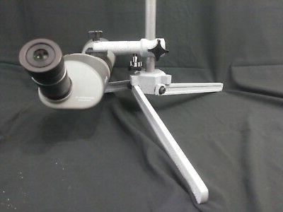 "Gray/White Spotting scope stand 7/8"" rod. High Power, Nation"