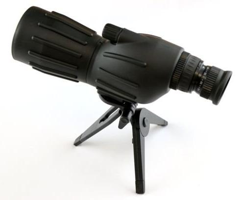 grooved spotting scope