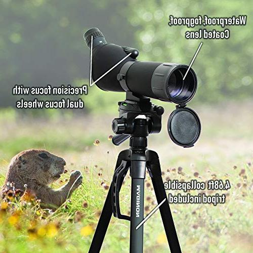 Maginon Definition Scope Tripod 20-60x60 Zoom for Target Hunting
