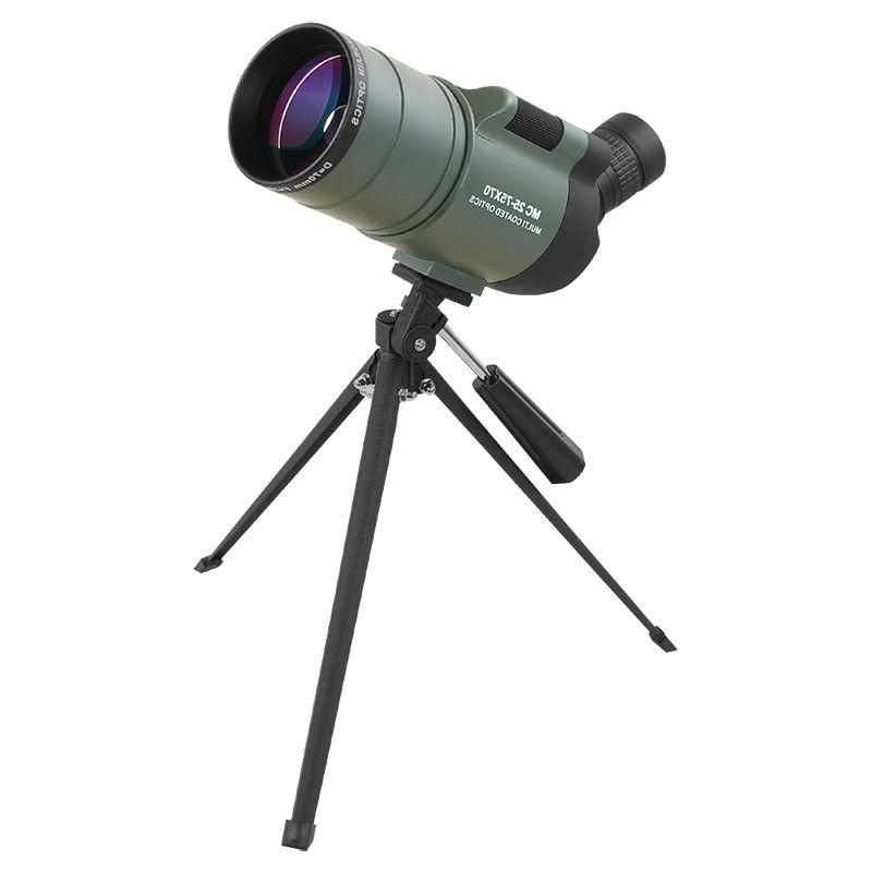 MAK Angled 25-75X70 Scope Waterproof Telescope Tripod Phone