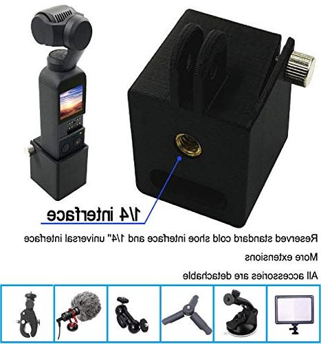 Vertily Gimbal Holder Strong Lightweight with Port Self-Portraits HD Photography Can