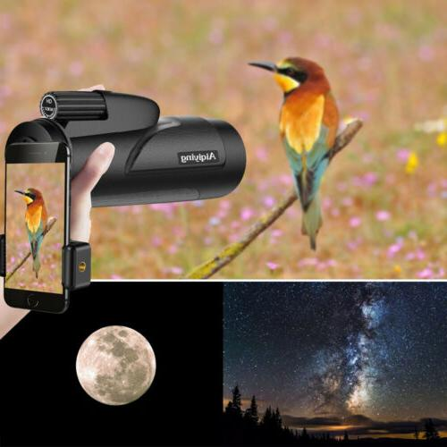 Monocular Telescope Waterproof High Scopes for Adults