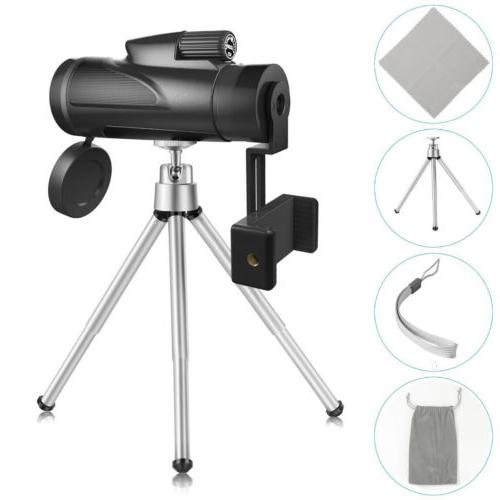 Monocular Telescope HD Waterproof High Scopes Adults