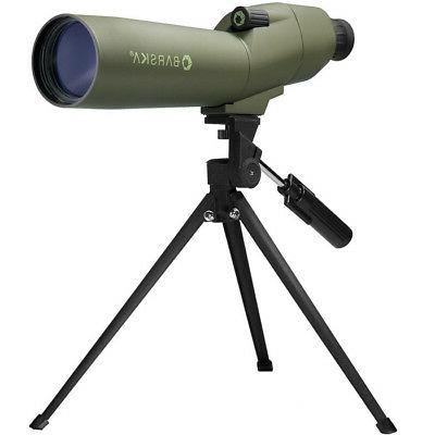 portable straight spotting scope hunting