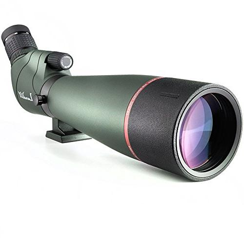 20-60X 80 Prism Scope- Birdwatching Outdoor Activities -with Tripod & Digiscoping Beauty Screen