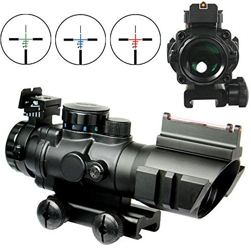 rifle scope fiber optic sight