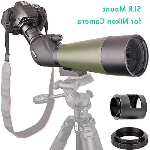 Gosky Tripod, Carrying Scope Photo BAK4 Angled Scope Target Shooting Watching Scenery