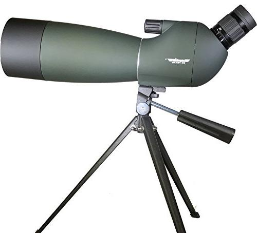RangeHAWK Scope Clear Best Hunting, Watching & More. Includes Phone Adapter Through The Scope.
