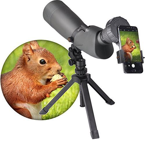 Cell Adapter for Vortex Bushnell Barska Spotting Scope Big Eyepiece with Monocular Scope For 6Plus HTC and