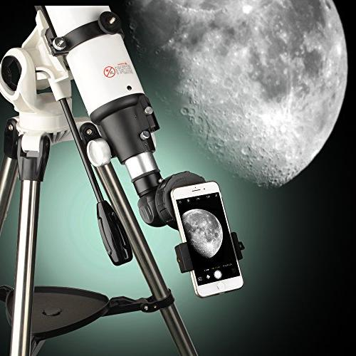 Cell Mount for Vortex Barska Scope Big Eyepiece Adapter Work with Spotting Scope Telescope 6Plus HTC LG and More